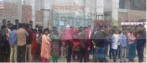 গাজীপুরে শ্রমিক নিহতের গুজবে বাসে আগুন, ভাঙচুর